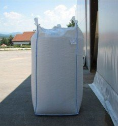 Pellet levering door Big Bag van 1,1 ton