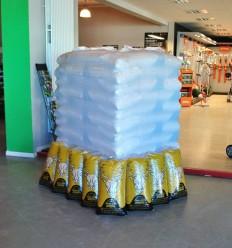 Om op te halen : pallet van 78 x 15kgs pellets DIN+